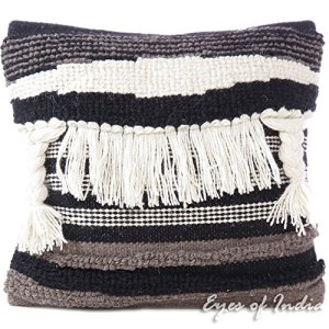 fringey pillow